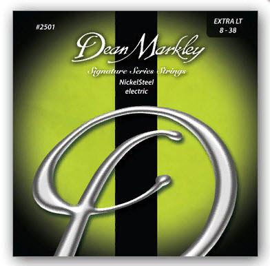 Струны для электрогитары DEAN MARKLEY 2501 NICKELSTEEL ELECTRIC XL (08-38)