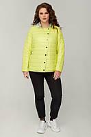 Куртка женская демисезонная батальная Разные цвета