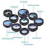 Набор линз для фото Apexel DG10 с bluetooth, фото 3