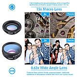 Набор линз для фото Apexel DG10 с bluetooth, фото 9