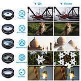 Набор линз для фото Apexel DG10 с bluetooth, фото 10