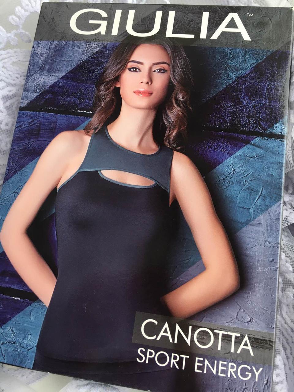 Спортивная майка из микрофибры Canotta Sport Energy
