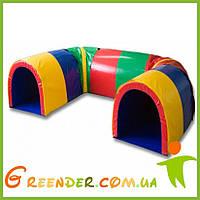 Детские мягкие спортивные модули набор KIDIGO Лабиринт