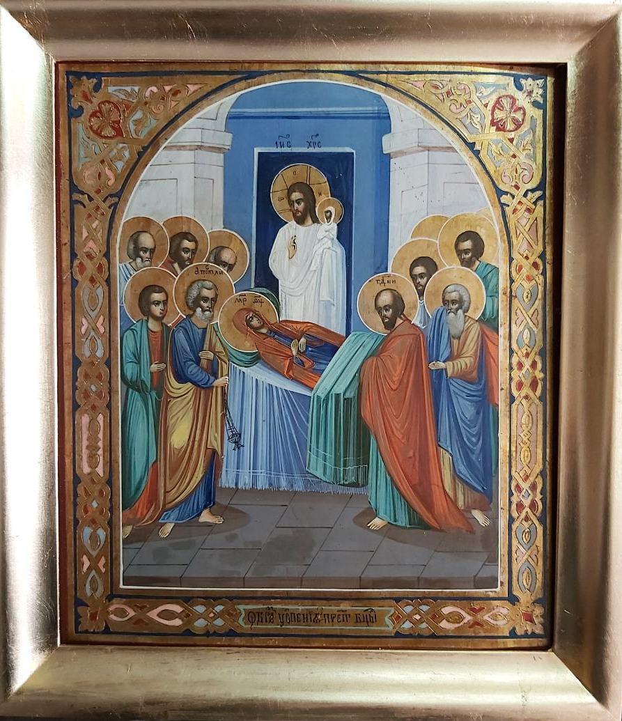 Икона Успение Пресвятой Богородицы XIX век  Киево-Печерская Лавра