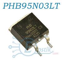 PHB95N03LT, MOSFET транзистор N chanel, 25В, 75А, TO263