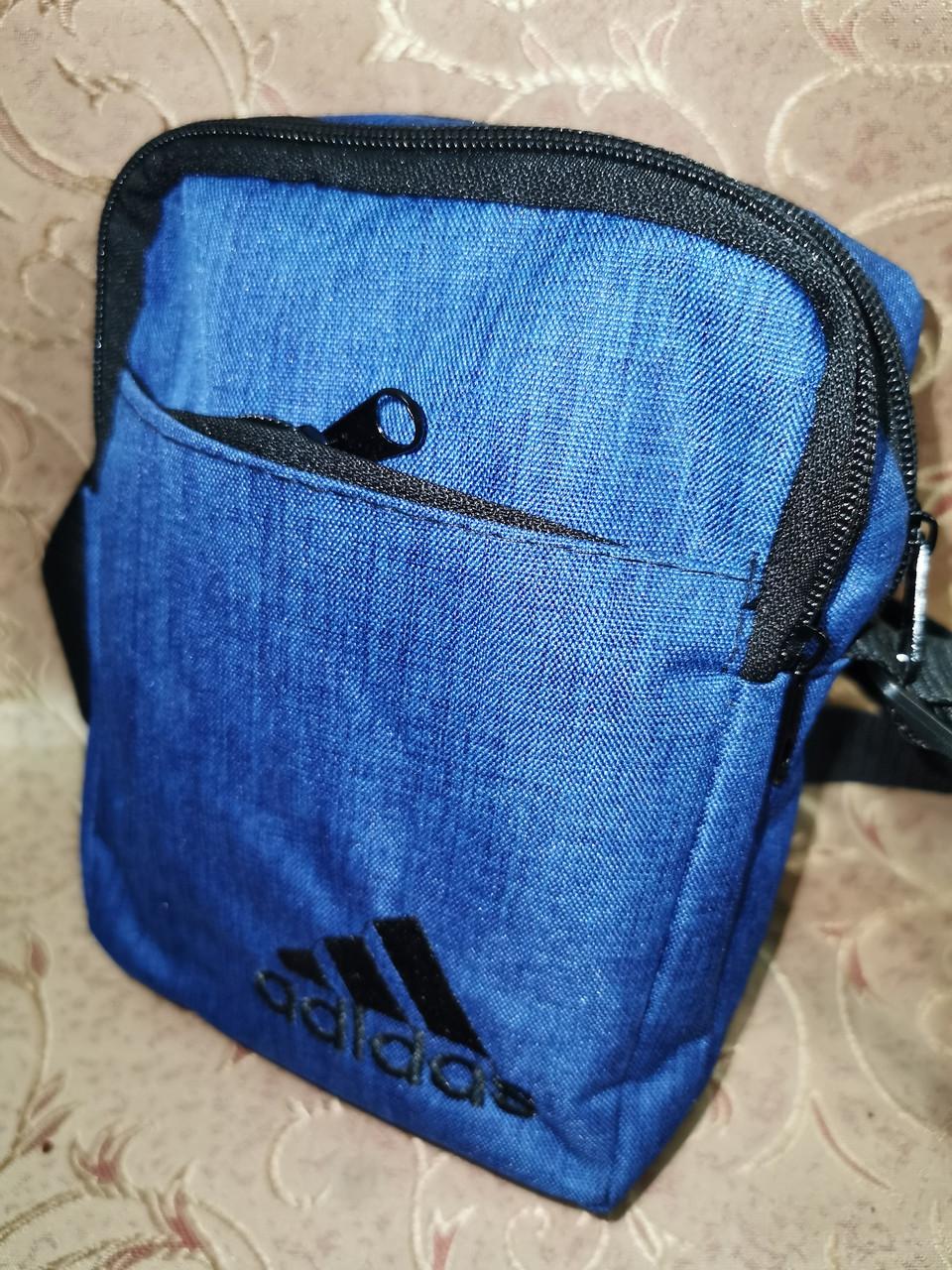 Барсетка adidas сумка спортивные мессенджер для через плечо Унисекс ОПТ