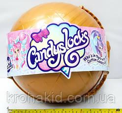 """Большой полушар Куклы """"Candylocks"""" B1163 с мебелью - 38 см / кукла Кендилокс с волосами из сладкой ваты, фото 2"""
