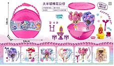 """Большой полушар Куклы """"Candylocks"""" B1164 с мебелью - 38 см / кукла Кендилокс с волосами из сладкой ваты, фото 3"""