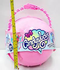 """Большой полушар Куклы """"Candylocks"""" B1164 с мебелью - 38 см / кукла Кендилокс с волосами из сладкой ваты, фото 2"""