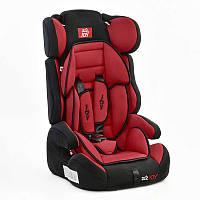 Автокресло универсальное для детей модель Е 1120 (2), цвет чёрно-красный, вес от 9 до 36 кг, с бустером, Joy.