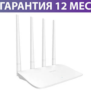 Wi-Fi роутер Tenda F6, проста настройка, процесор Qualcomm