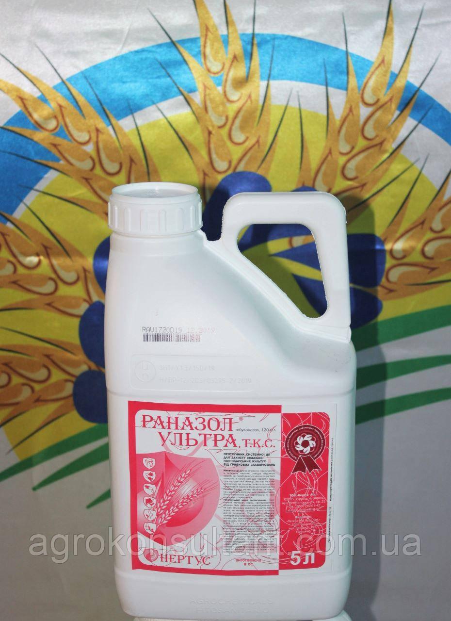 Раназол Ультра, 5л (аналог Раксил Ультра) - ФУНГИЦИДНЫЙ протравитель (на 20-25т) (тебуконазол 120г/л). Нертус