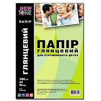 Фотобумага NewTone, глянцевая, А4, 180 г/м2, 50 листов (G180.50N)
