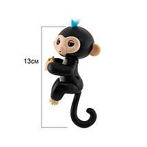 Игрушка интерактивная обезьянка Happy Monkey Black (THM6003), фото 2