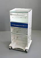 Медицинский столик Панок 4 400 прямоугольный (c ящиком) Медаппаратура