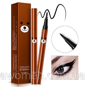 """Подводка маркер Rorec для макияжа глаз """"миша"""" 2 g (черная)"""