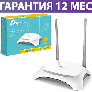 Wi-Fi роутер TP-LINK TL-WR842N, USB порт, підтримка IPTV і 3G/4G модем