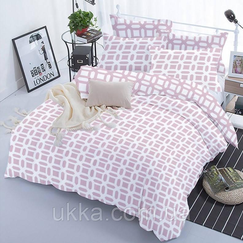 Двуспальное постельное белье ТЕП 330 LILAC LOVE