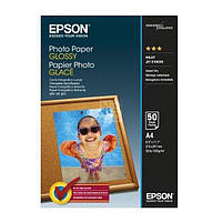 Фотобумага Epson, глянцевая, А4, 200 г/м2, 50 листов (C13S042539)