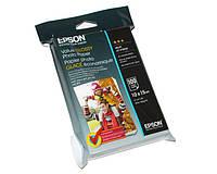 Фотобумага Epson, глянцевая, А6 (10х15), 183 г/м2, 100 листов, Value Series (C13S400039)