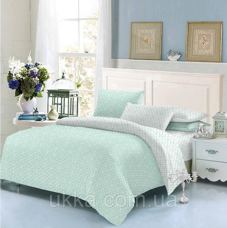 Двуспальное постельное белье ТЕП 337 Homely Mint