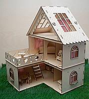 Домик для кукол. Кукольный домик из фанеры.