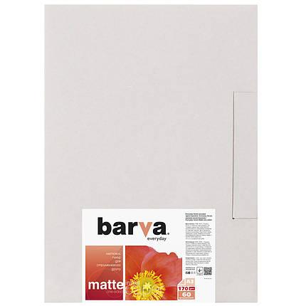 Фотобумага Barva, матовая, А3, 170 г/м2, 60 листов (IP-AE170-325), фото 2