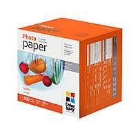 Фотобумага ColorWay, матовая, А6 (10х15), 220 г/м2, 500 листов (PM2205004R)