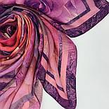 10194-8, павлопосадский платок шерстяной (разреженная шерсть) с швом зиг-заг, фото 8
