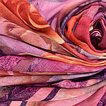 10194-8, павлопосадский платок шерстяной (разреженная шерсть) с швом зиг-заг, фото 7