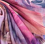 10194-8, павлопосадский платок шерстяной (разреженная шерсть) с швом зиг-заг, фото 2
