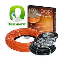Теплый пол электрический Греющий кабель Fenix 18,5 м. (1,8-2,5 м²) 320 Вт
