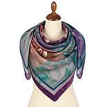 10194-15, павлопосадский платок шерстяной (разреженная шерсть) с швом зиг-заг, фото 3