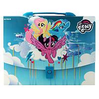 Портфель-коробка Kite My Little Pony LP19-209