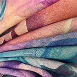 10194-15, павлопосадский платок шерстяной (разреженная шерсть) с швом зиг-заг, фото 2