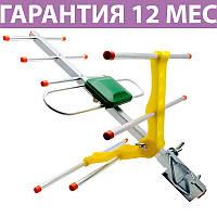 Антенна для Т2 Eurosky 003 (DVB-T2), наружная с усилителем, прием до 40 км от передатчика