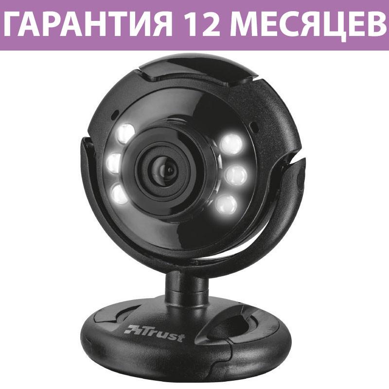 Веб-камера Trust SpotLight Pro, встроенный микрофон, с подсветкой