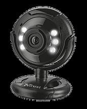 Веб-камера Trust SpotLight Pro, встроенный микрофон, с подсветкой, фото 2