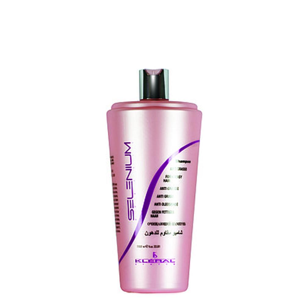Шампунь для жирных волос Kleral System Selenium Anti-Greasy Hair Shampoo 1000 мл