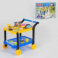 """Игровой набор """"Сладости"""" для детей модель 36778-90 с сервировочным столиком, продукты на липучках, в коробке."""