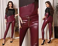 """Стильный кожаный костюм """"Красотка"""" DRESS CODE, фото 1"""