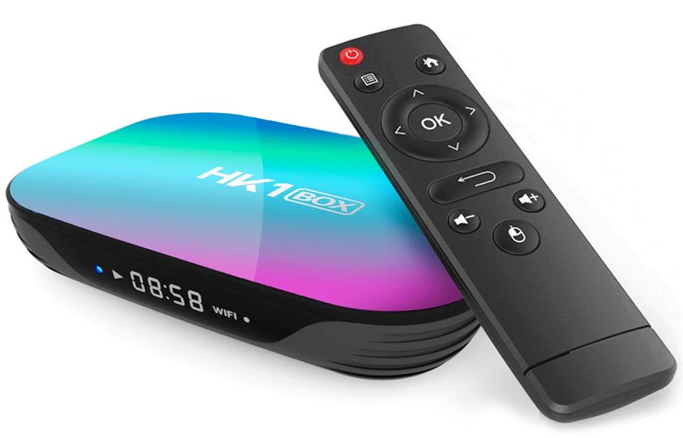Приставка HK1 Box | 4/64 GB | Amlogic S905X3 | Android TV Box