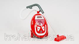 """Детский игрушечный пылесос LIMO TOY 3200 с эффектами, работает от батареек, собирает """"мусор"""""""