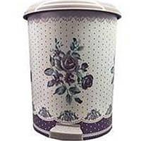 Відро з педаллю 6л Вінтаж фіолетовий Elif