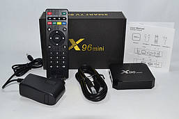 X96 mini TV BOX (Android 7.1, Amlogic S905W, 2/16GB) с глазком