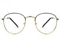 Имиджевые Очки Vintage винтажные для чтения  Золотой