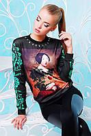 Свитшот Модный Картина с Ягодкой