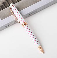 Ручка шариковая в горох