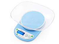 Весы для кухни QZ-161A на 5кг  Синий