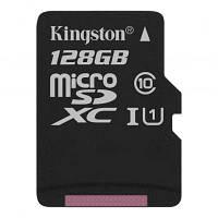 Карта памяти Kingston 128GB microSDXC Class 10 Canvas Select Plus 100R A1 (SDCS2/128GBSP)